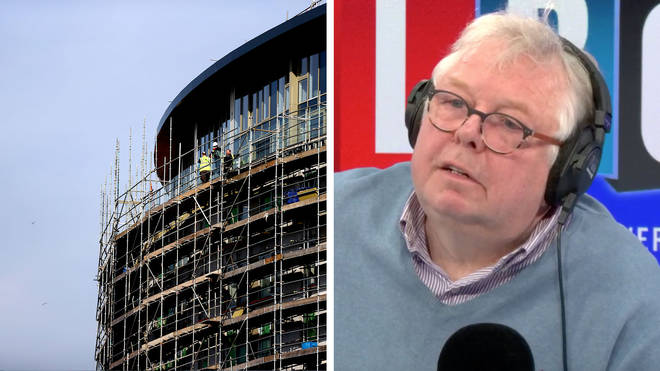 Nick Ferrari grills Communities Secretary on why building sites are still open
