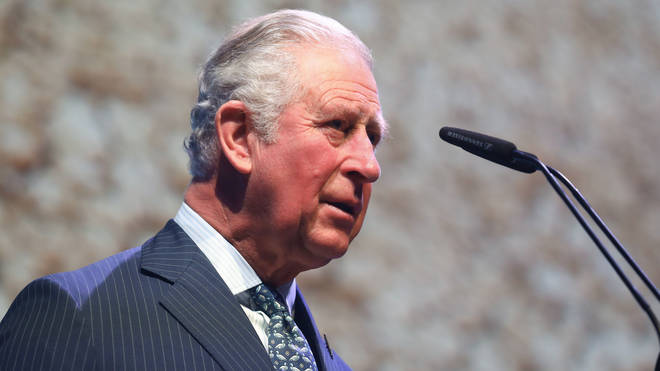 The Prince of Wales has tested positive