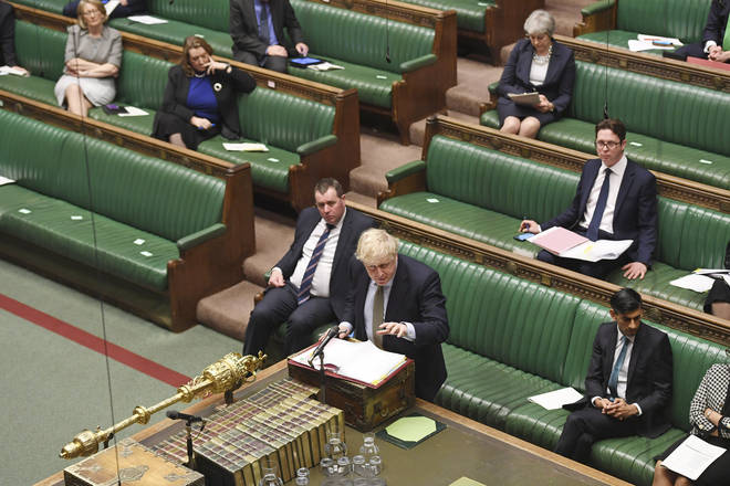 Prime Minister's Questions takes place whenever the Commons is sitting