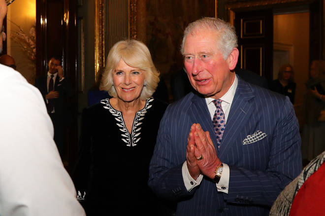 Prince Charles had stopped shaking hands when he met people on Royal duty