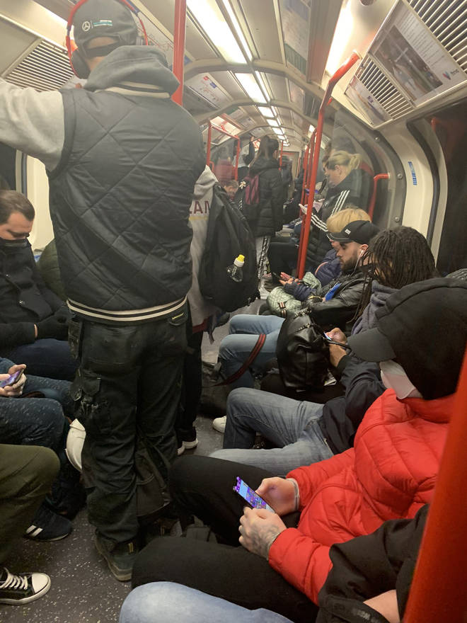 "London Underground lines were packed again despite the prime minister saying it was possible to ""run a better Tube system"""