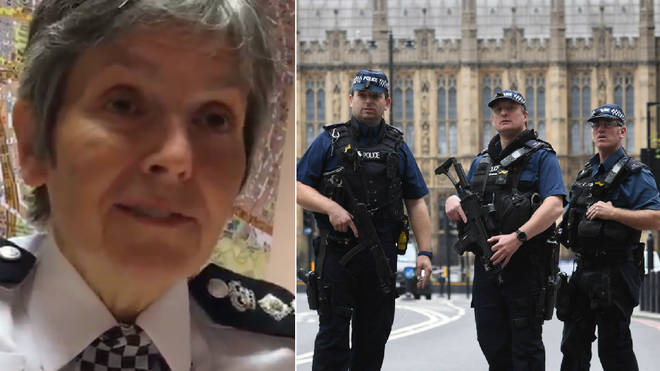 Cressida Dick praised the courage of the police officers