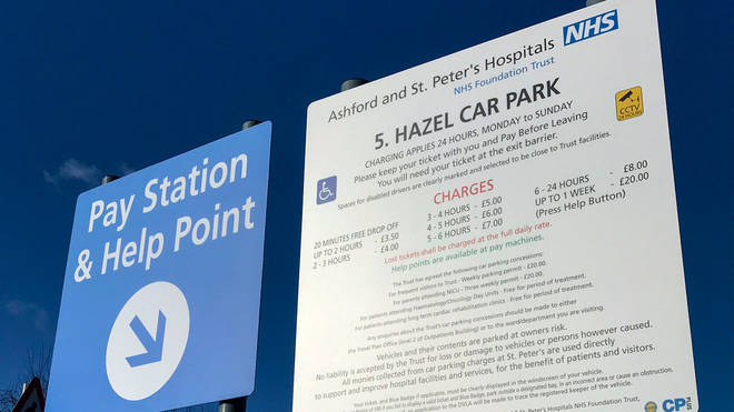 File photo: NHS staff will not have to pay for parking while tackling the pandemic