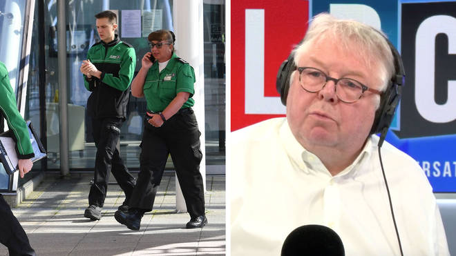 Nick Ferrari challenged the Health Minister over equipment for NHS staff
