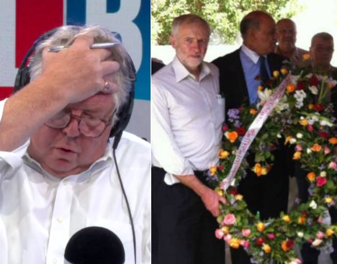 Nick Ferrari rowed with a Corbyn supporter