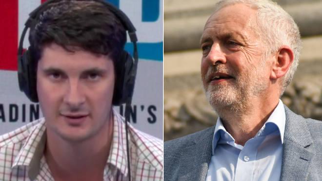Tom Swarbrick insisted the media are not smearing Jeremy Corbyn