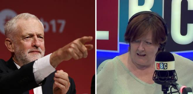 Jeremy Corbyn, Shelagh Fogarty