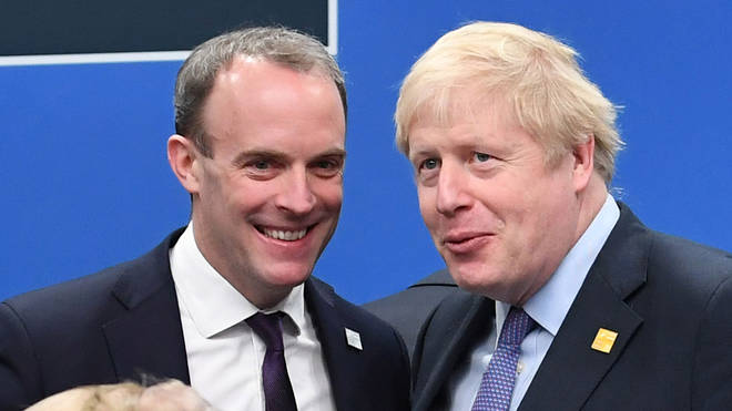 Dominic Raab would take over as PM if Boris Johnson is unable to carry on