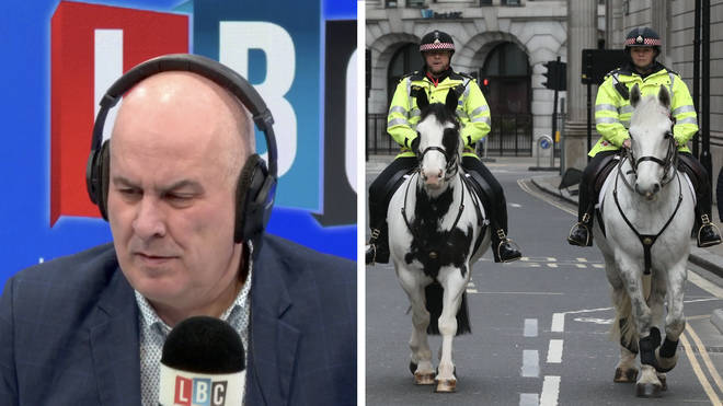 The former crime commissioner made the remark to LBC