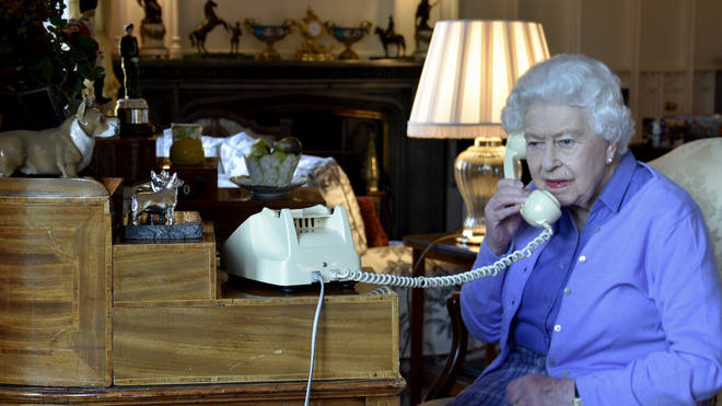 The Queen has been holding weekly audiences with the prime minister via telephone