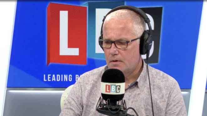 Maureen told LBC's Eddie Mair how her son died of Covid-19