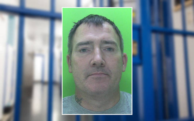 Paul Leivers was jailed for a year on Saturday after spitting at officers