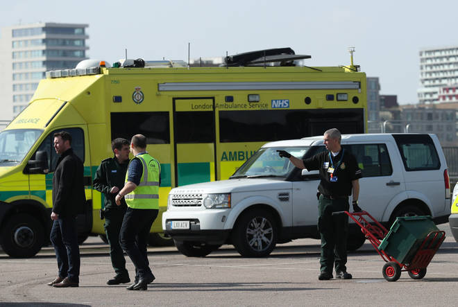NHS worker told Richard that the emergency services are being abused