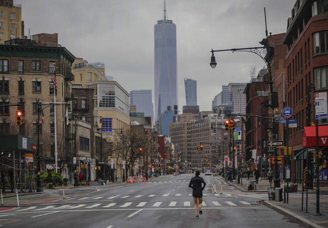 New York has become the worst hit area of the United States