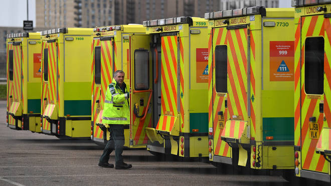 Paramedic's are on the frontline of the fight against the virus