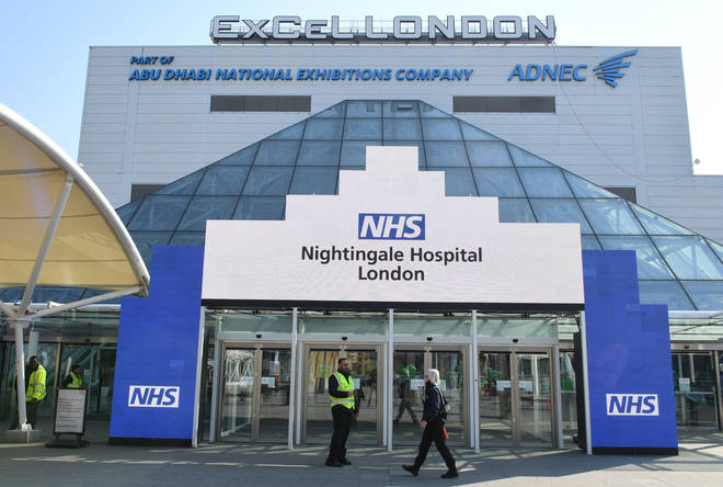It is being built at London's ExCel centre
