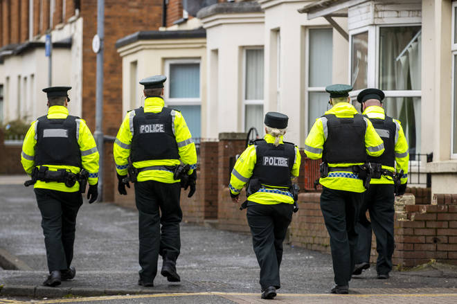PSNI officers can fine people if they do not obey social distancing rules