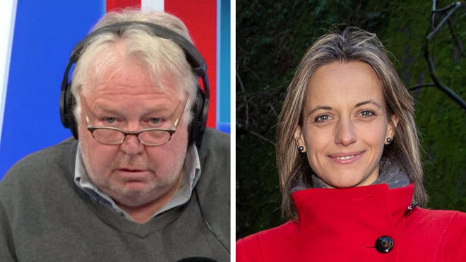 Nick Ferrari had a fiery row with Care Minister Helen Whately