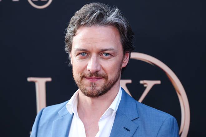 Hollywood actor James McAvoy