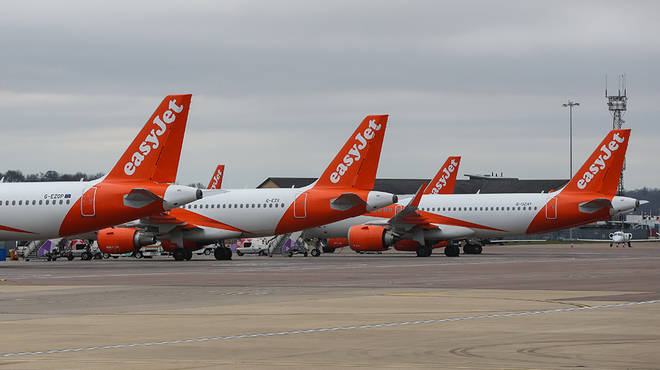 EasyJet are unsure of how long flights will be cancelled for