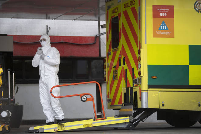 The NHS' supply of protective equipment has been stretched