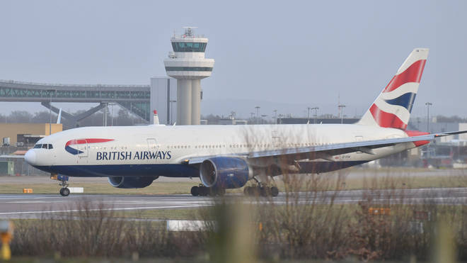 British Airways has announced it is suspending all flights in and out of Gatwick