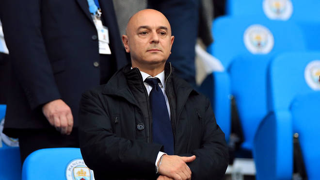 Mr Levy received a £3million bonus last year for the completion of Tottenham's new stadium