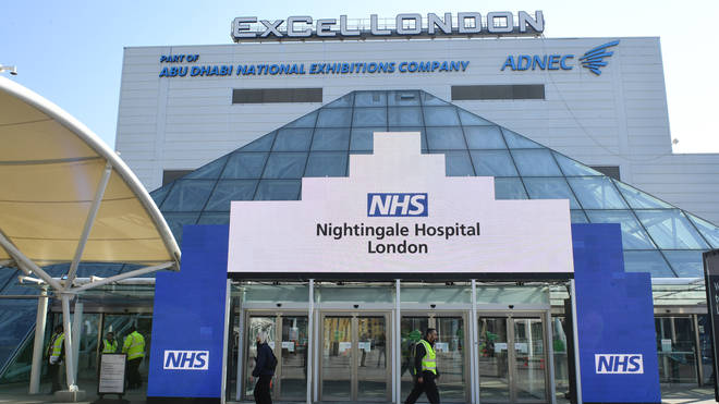 The Nightingale Hospital at London's ExCel Centre will open this week