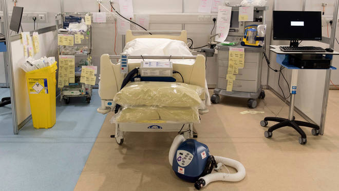 Brand new equipment has been set up inside the huge hospital