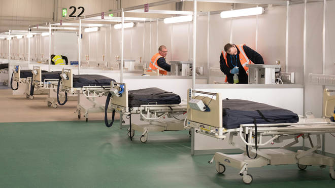 The facility holds 4,000 beds