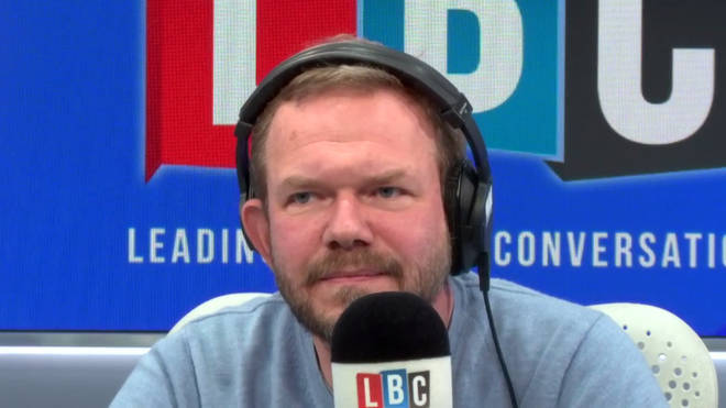 James O'Brien explained the symptoms of coronavirus that he has had