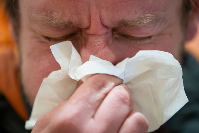 Loss of smell and taste is thought to be a better predictor than a continuous cough