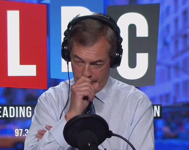 "Alex From Mill Hill Tells Nigel Farage That ""The Jewish Community Are Terrified"" Of The Prospect Of A Government Led By Corbyn"