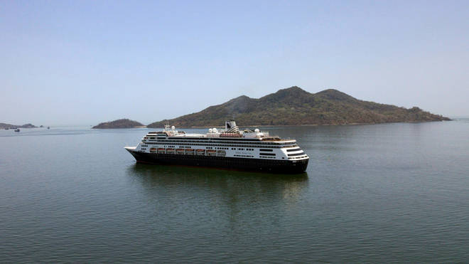 The Zaandam is embroiled in a bitter dispute over plans to disembark passengers in the US