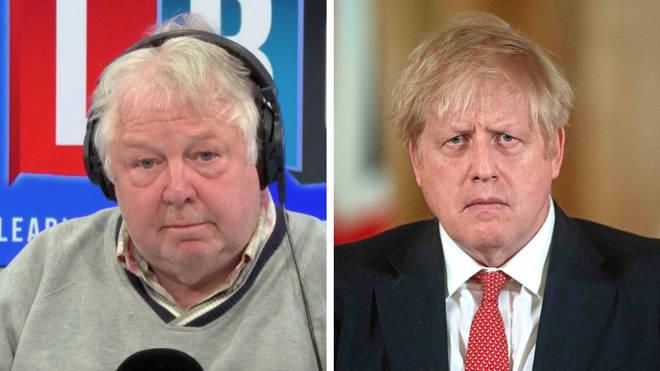 Nick Ferrari had this tough message for Boris Johnson