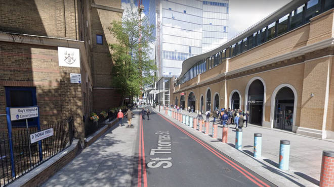 The theft happened on St Thomas Street in London