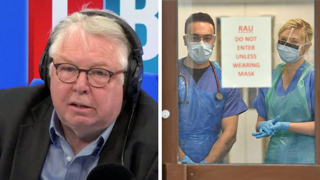 Nick Ferrari heard from the BMA that doctors feel abandoned by the government
