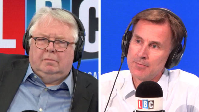Nick Ferrari was joined by Jeremy Hunt to answer listeners' questions