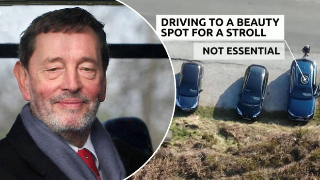 Lord Blunkett was critical of Derbyshire police
