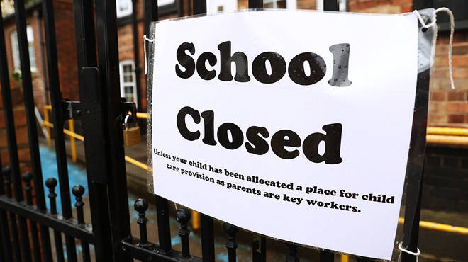 Boris Johnson closed schools in March in an attempt to control coronavirus