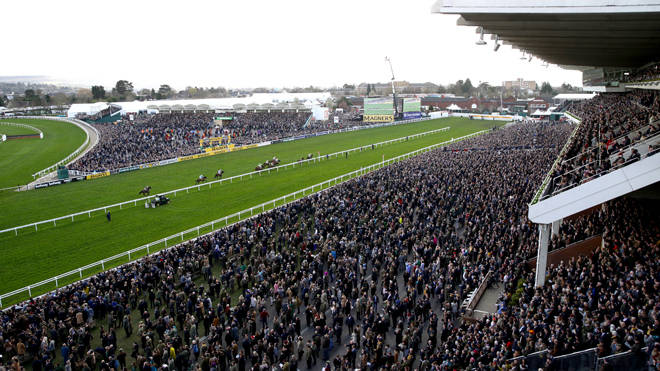 A huge crowd at this year's Cheltenham Festival