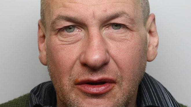 David Newton was jailed for coughing at NHS workers