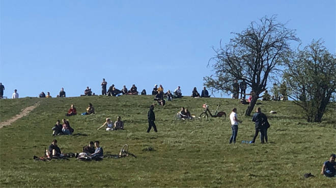 Police shared this image of Primrose Hill