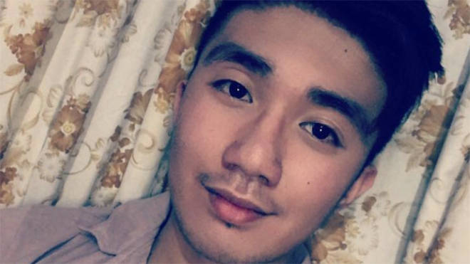 John Alagos, 23, died after his shift at Watford General Hospital