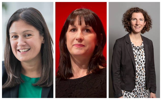 Lisa Nandy, Rachel Reeves and Anneliese Dodds all have new roles