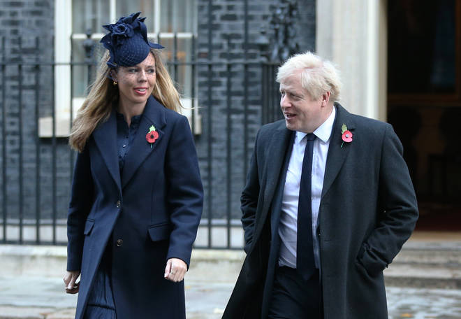 The Prime Minister's pregnant fiancee Carrie Symonds has been self-isolating after also experiencing symptoms