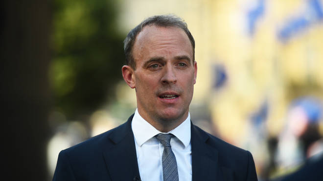 Dominic Raab is set to chair the Government's daily Covid-19 meeting