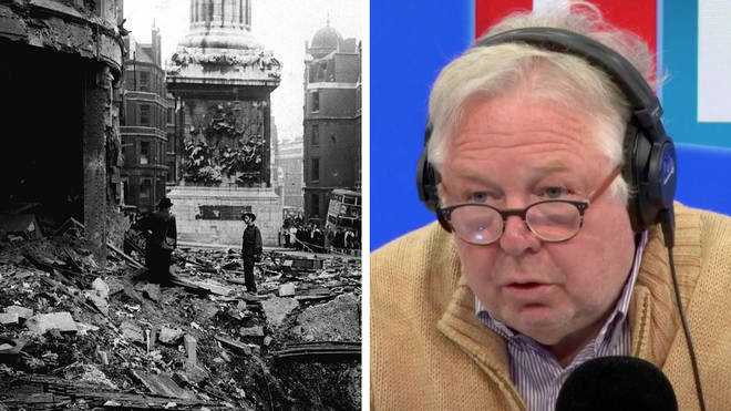 Nick Ferrari heard from a WWII survivor who said the coronavirus lockdown is tougher than the Blitz