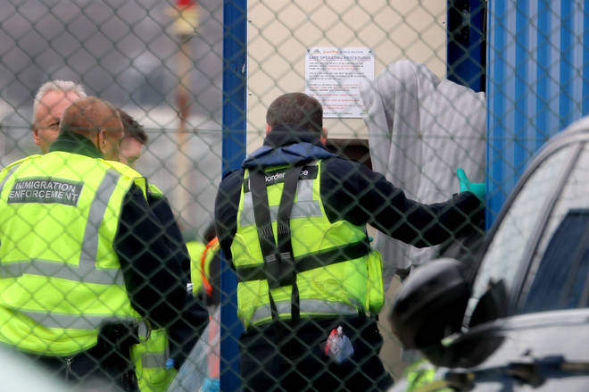 80 migrants have risked their lives to get to the UK