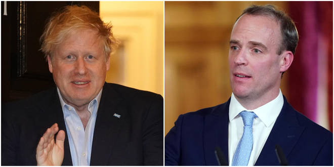 """Dominic Raab has been named """"designated survivor"""" and will be taking over from Boris Johnson while he receives medical treatment"""
